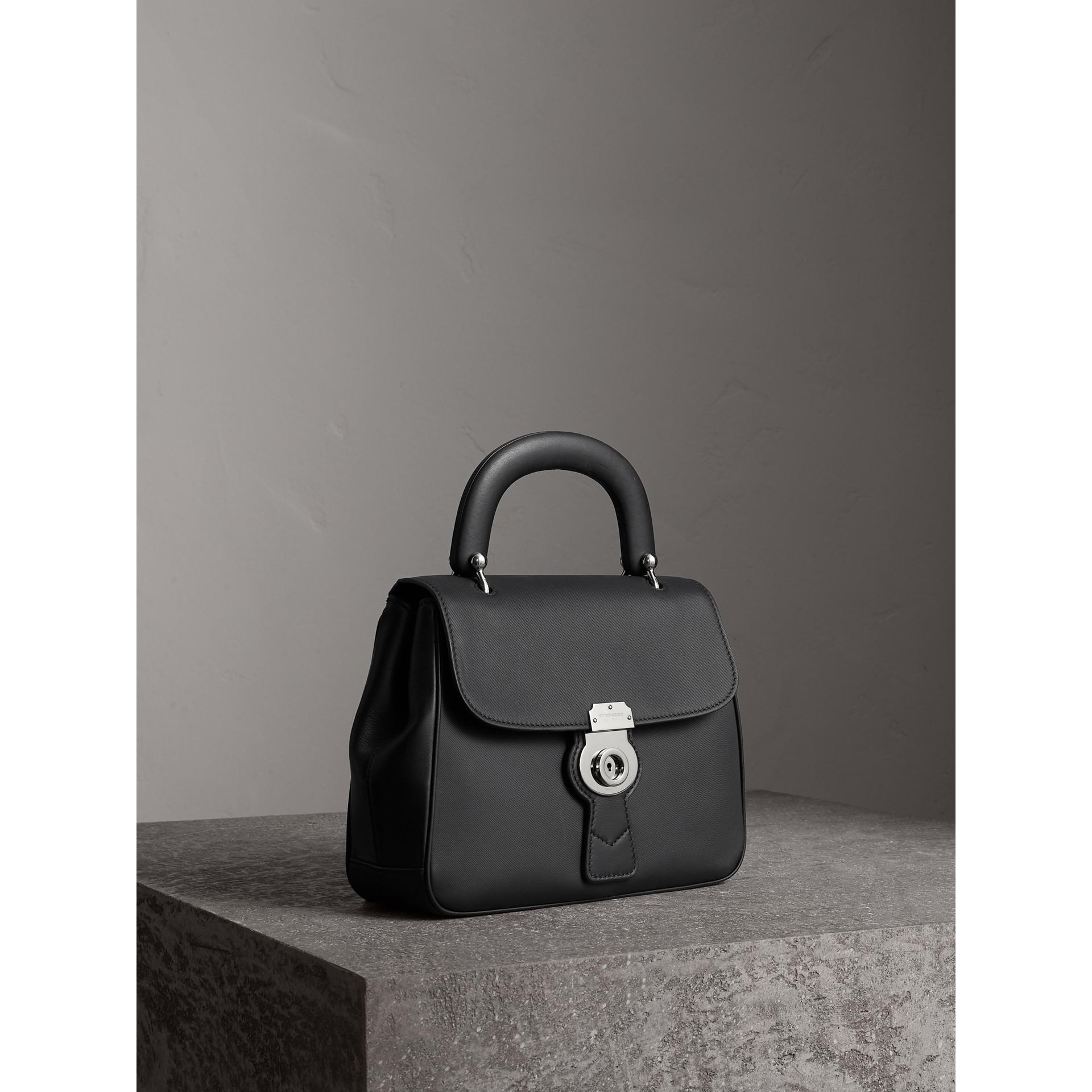 The Medium DK88 Top Handle Bag in Black - Women | Burberry United Kingdom - gallery image 7