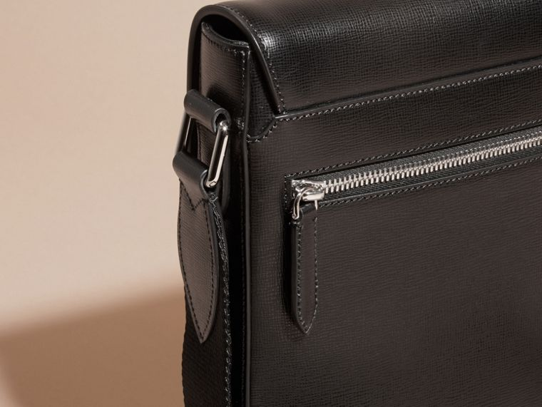 London Leather Crossbody Bag in Black - cell image 1