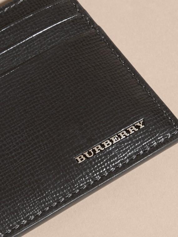 Noir Porte-cartes en cuir London Noir - cell image 3