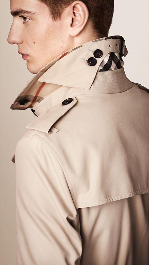 Honey The Sandringham - Long Heritage Trench Coat - Image 3