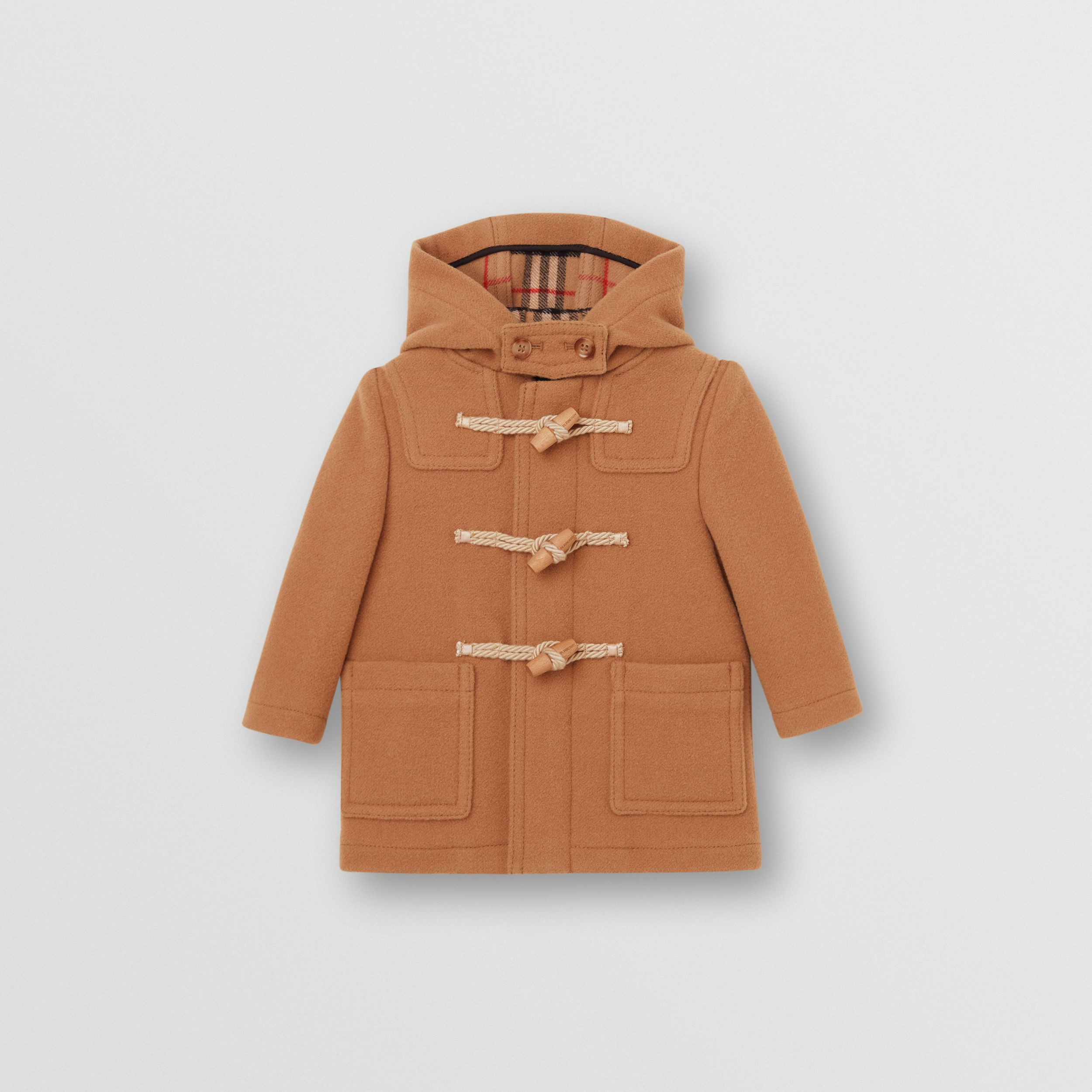 Double-faced Wool Duffle Coat - Children | Burberry - 1