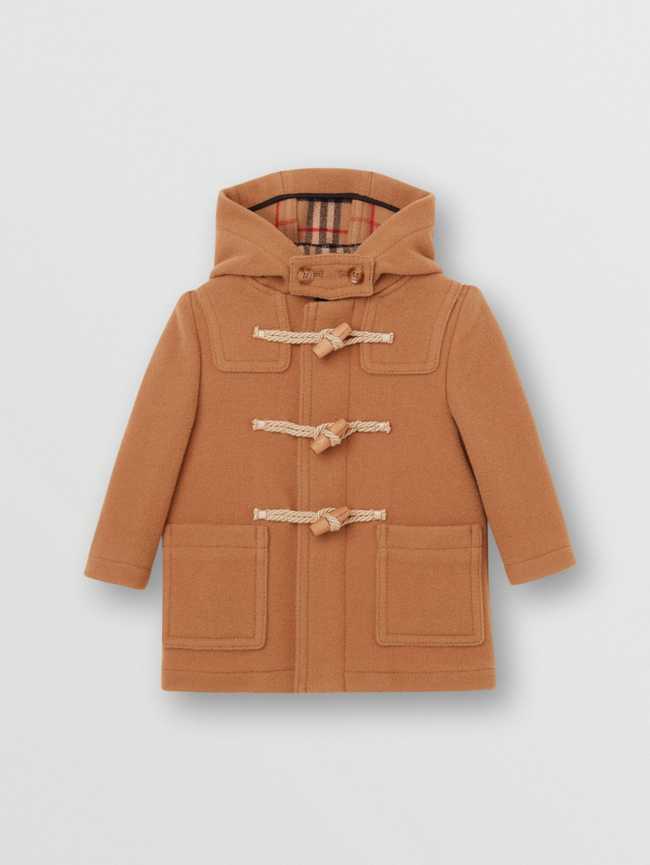 Duffle-coat en laine double face
