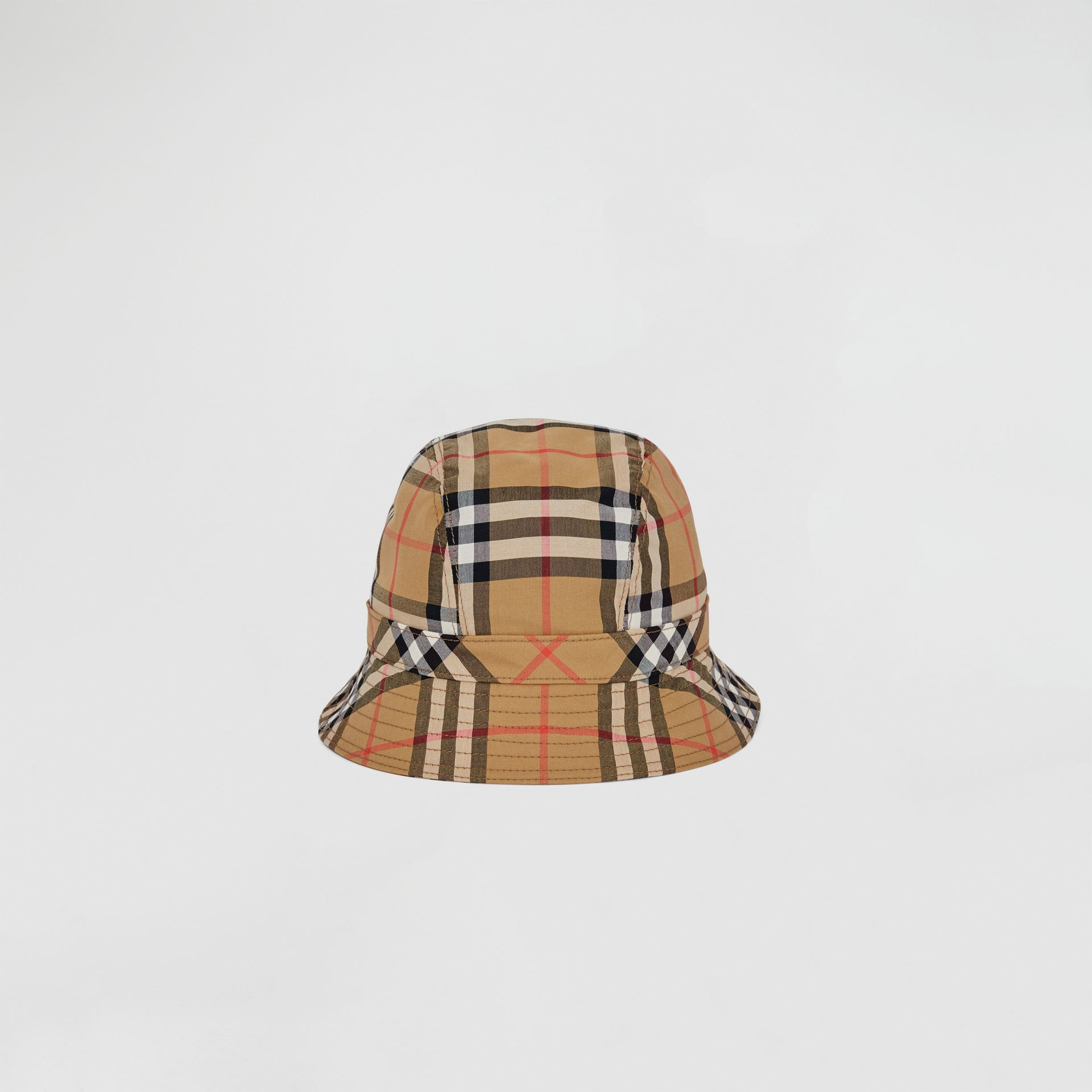 Vintage Check Bucket Hat in Antique Yellow/rainbow | Burberry United States - gallery image 0