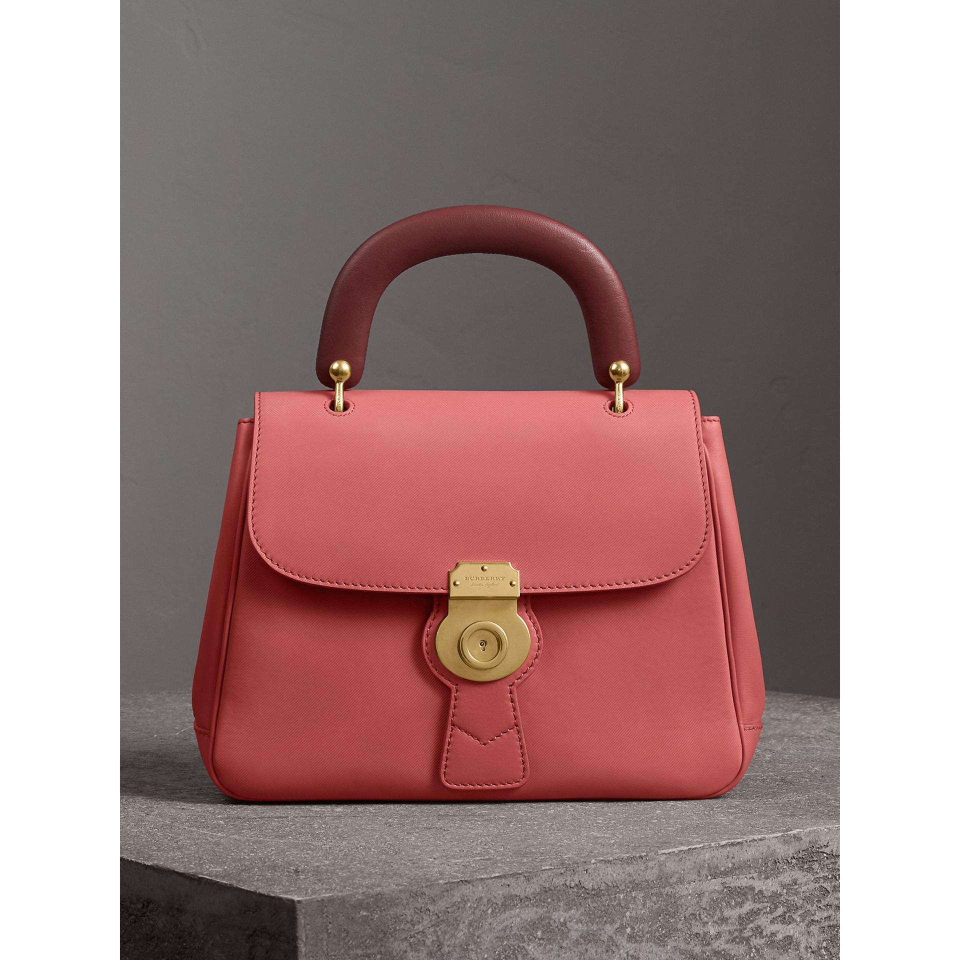 The Medium DK88 Top Handle Bag in Blossom Pink - Women | Burberry - gallery image 0