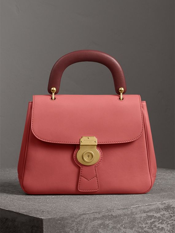The Medium DK88 Top Handle Bag in Blossom Pink