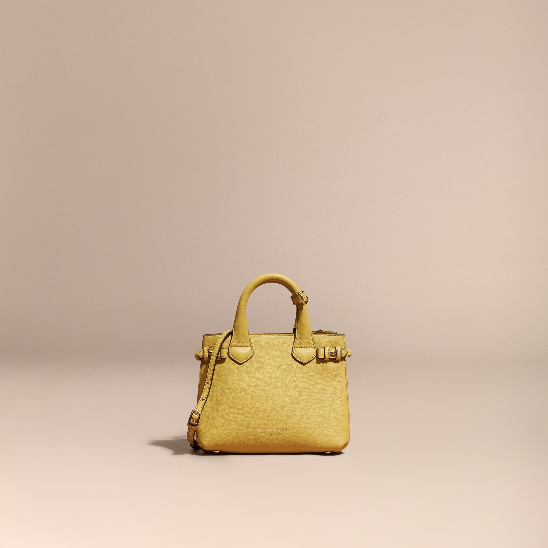 The Baby Banner en cuir et coton House check - Femme | Burberry - photo de la galerie 8