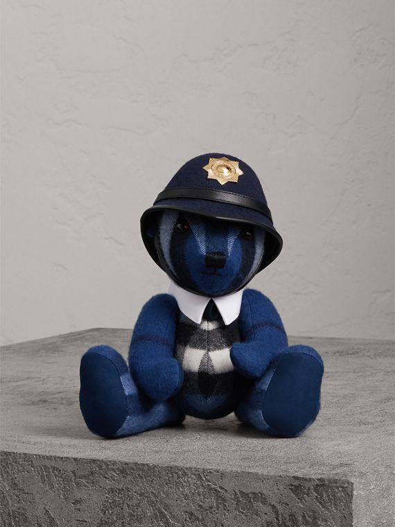 The Bobby Thomas Bear in Cadet Blue | Burberry - cell image 3