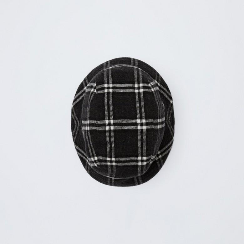 Burberry - Gosha x Burberry Check Flannel Bucket Hat - 6
