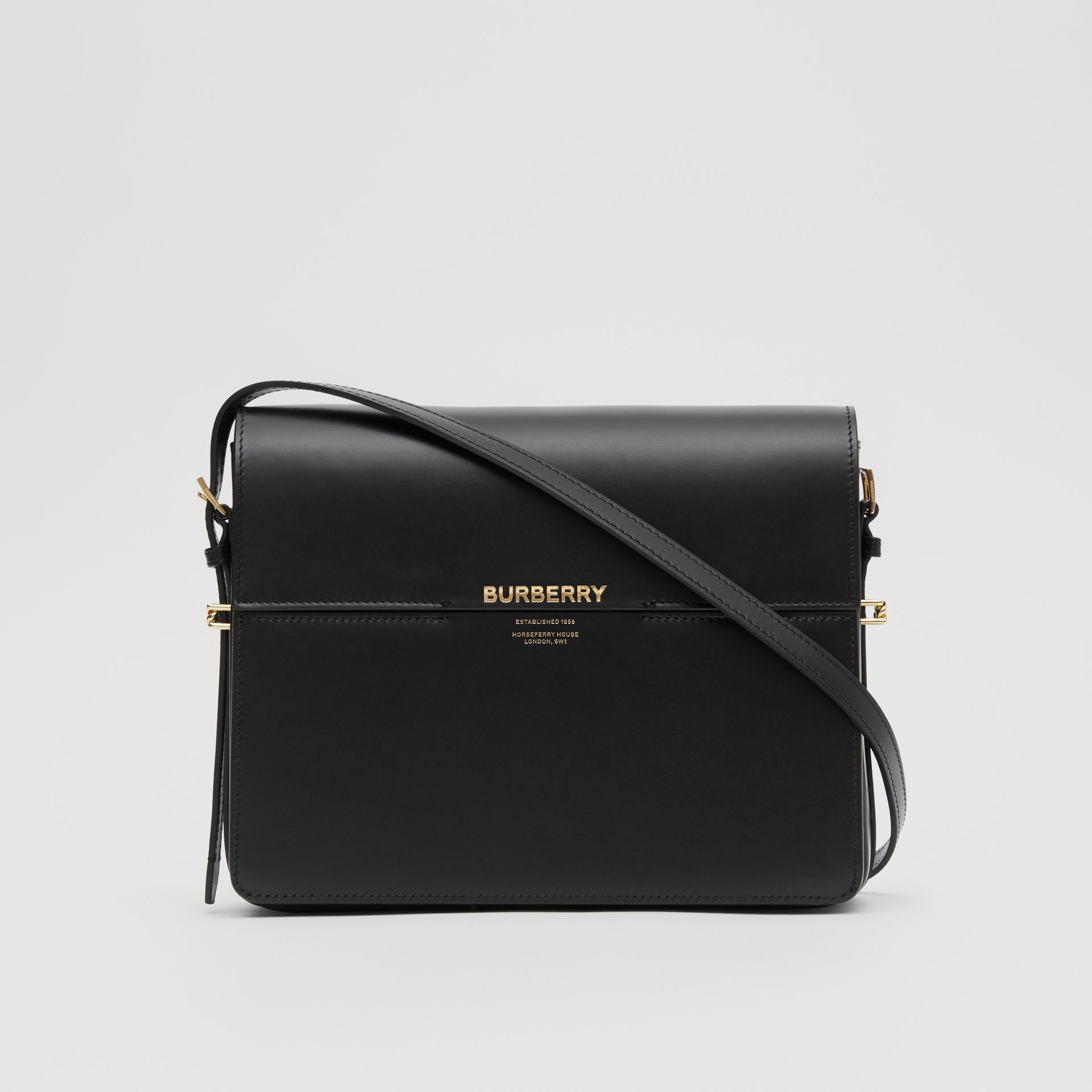 Large Leather Grace Bag in Black - Women | Burberry United Kingdom - gallery image 0