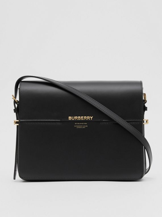 Large Leather Grace Bag in Black