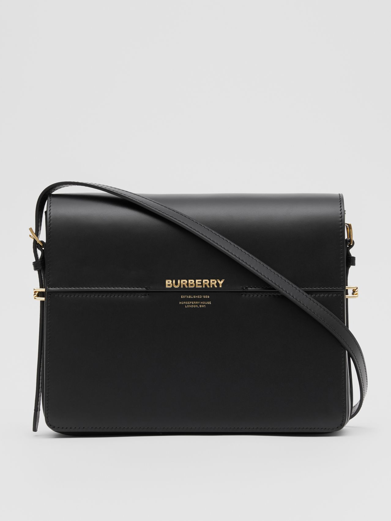 Large Leather Grace Bag (Black)