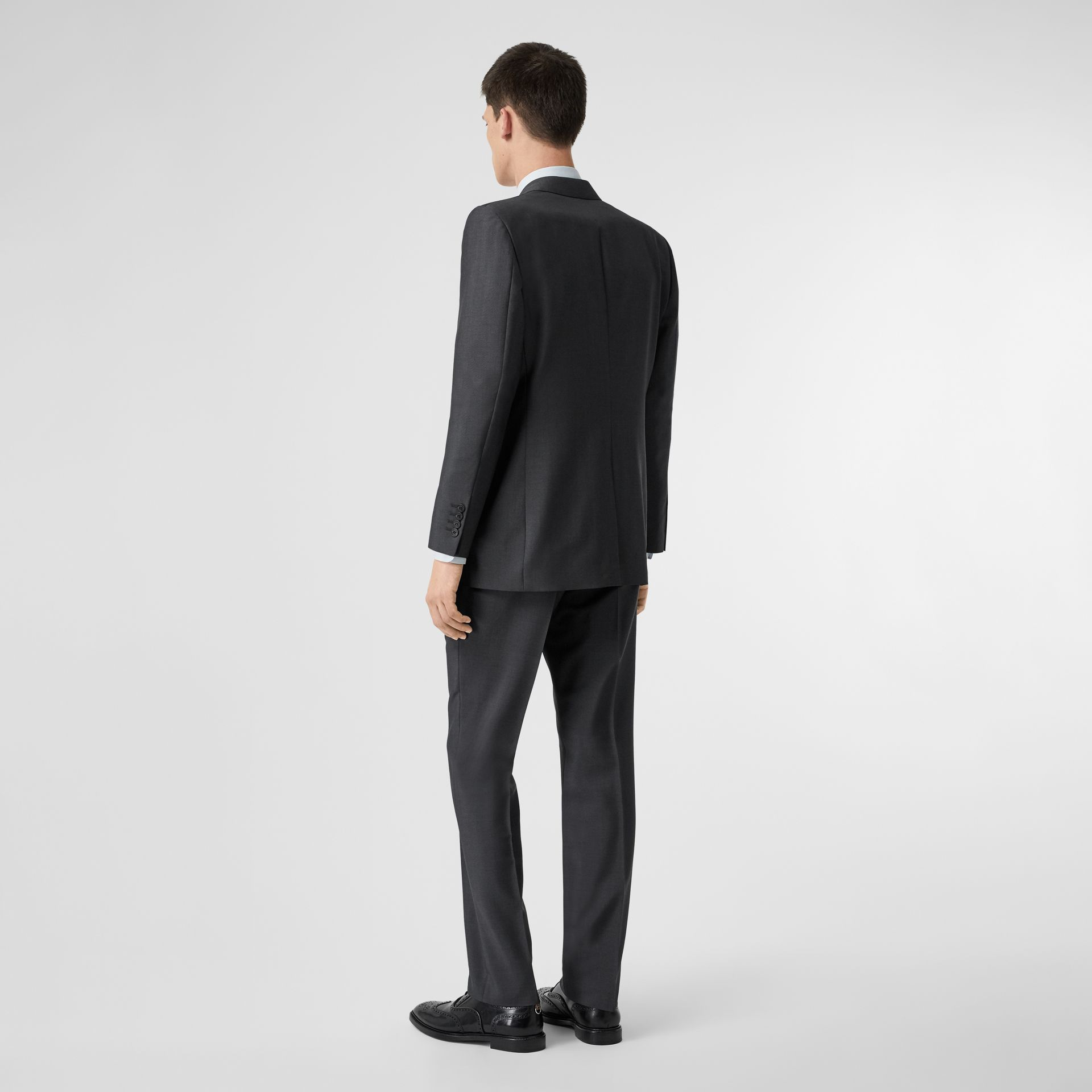Classic Fit Wool Mohair Suit in Dark Grey - Men | Burberry Canada - gallery image 2