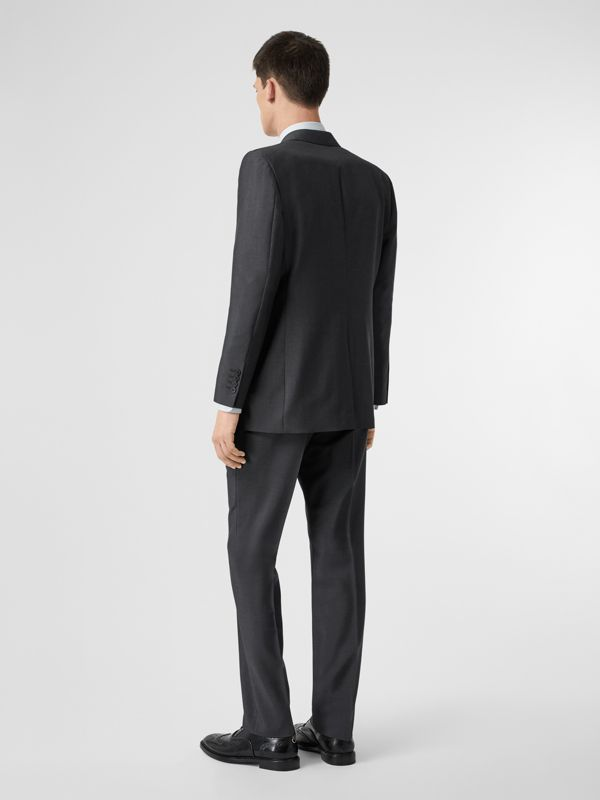Classic Fit Wool Mohair Suit in Dark Grey - Men | Burberry - cell image 2