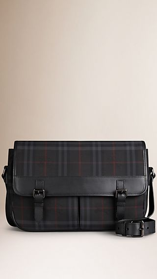 Horseferry Check Messenger Bag