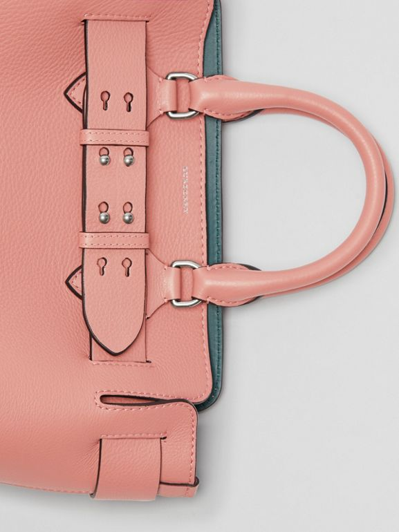The Small Leather Belt Bag in Dusty Rose - Women | Burberry United Kingdom - cell image 1