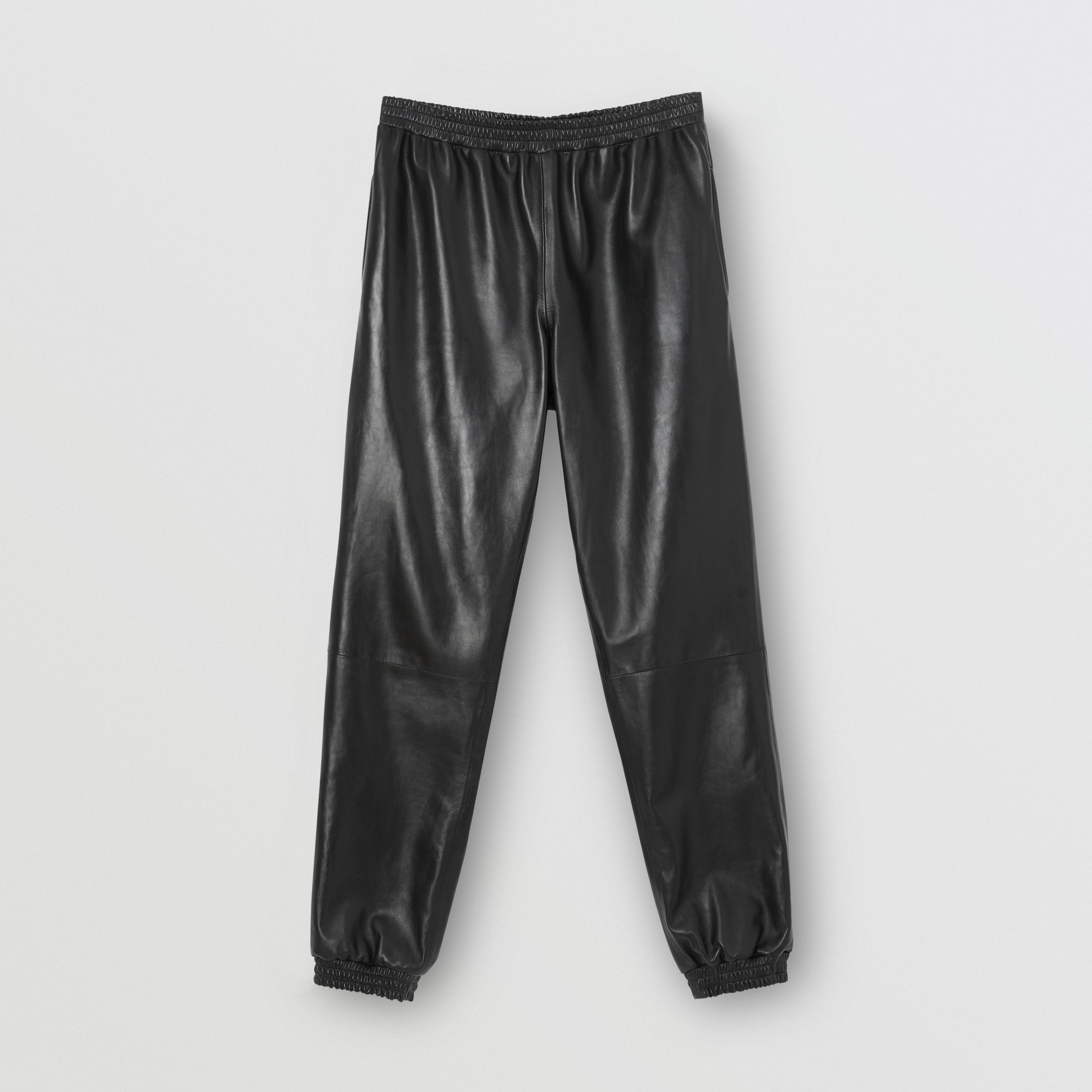Plonge Lambskin Trackpants in Black - Men | Burberry United Kingdom - 4