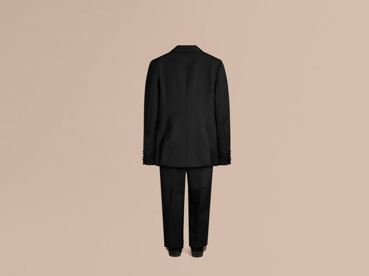Black Wool Tuxedo Jacket - cell image 2