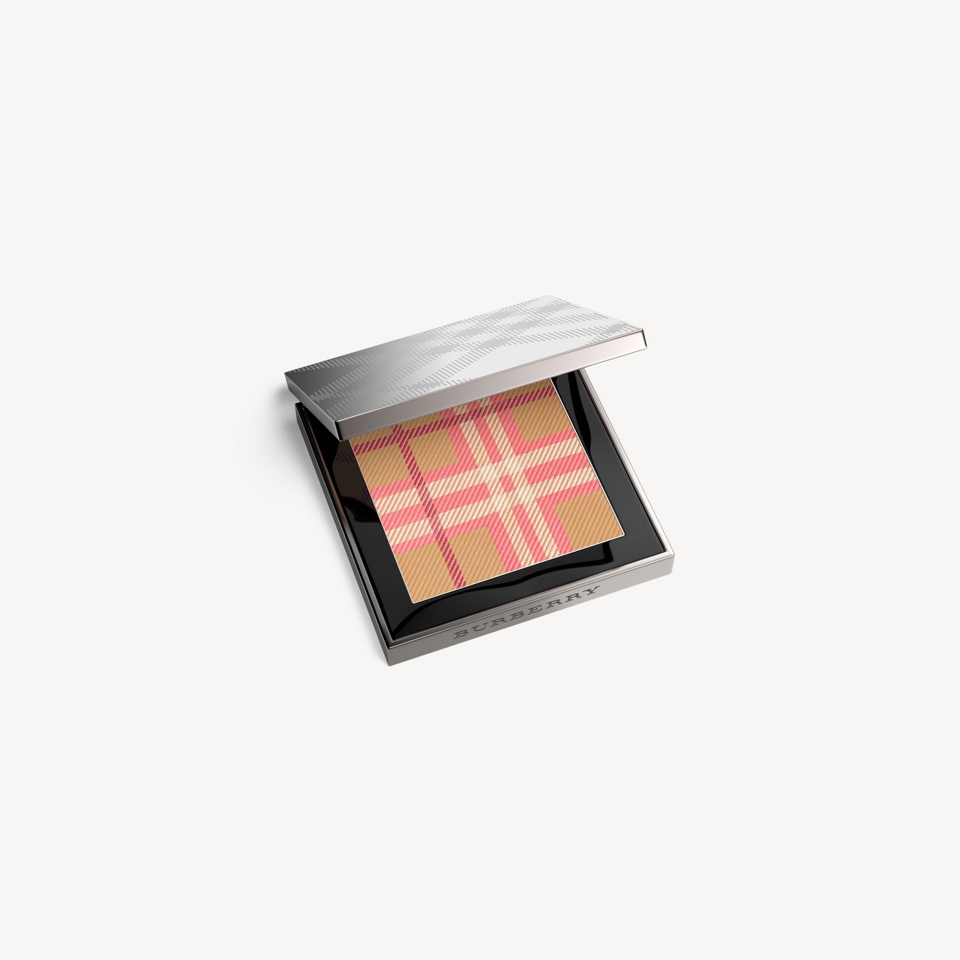 The Check Palette Blush & Bronzer Duo in Pink - Women | Burberry Singapore - gallery image 0