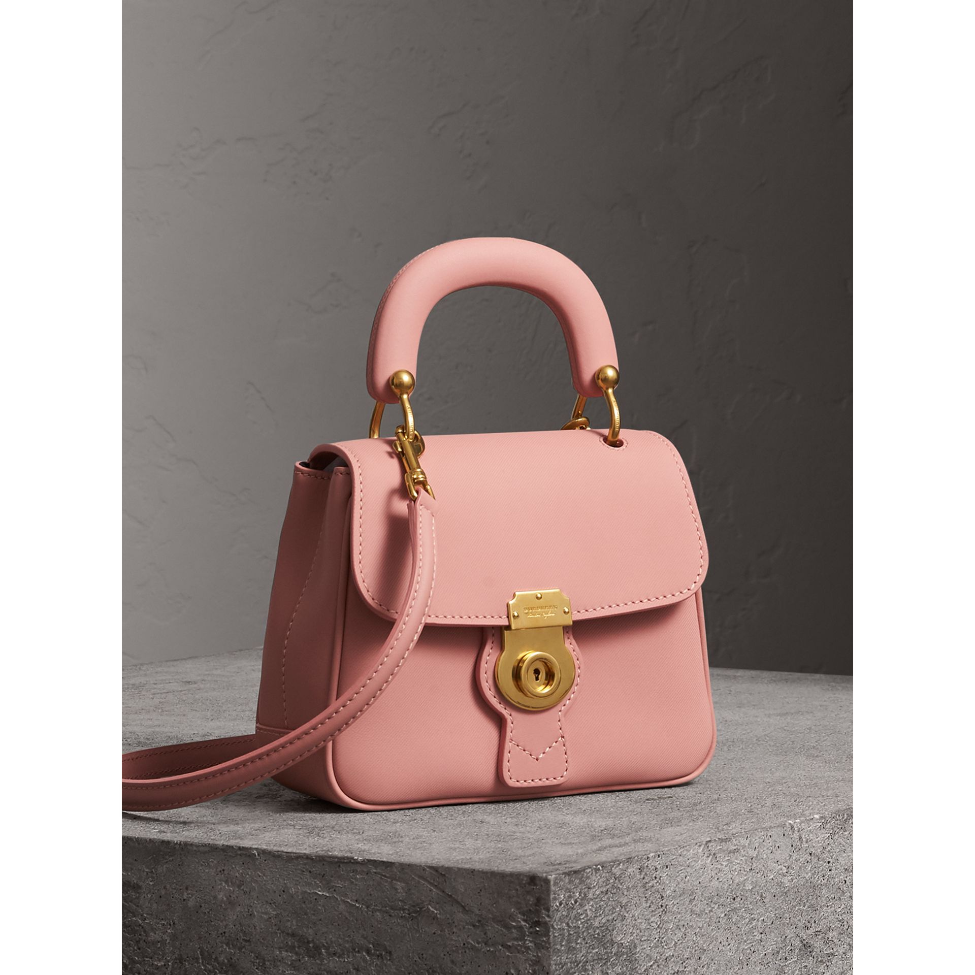 The Small DK88 Top Handle Bag in Ash Rose - Women | Burberry - gallery image 6