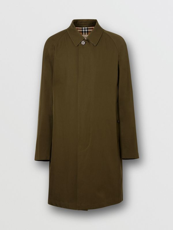 The Camden Car Coat in Dark Military Khaki - Men | Burberry United Kingdom - cell image 3