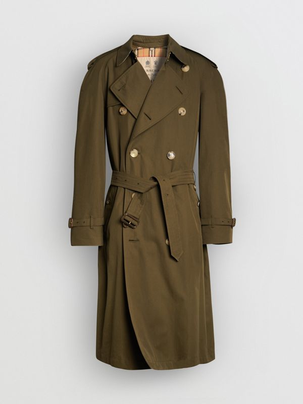 The Westminster Heritage Trench Coat in Dark Military Khaki - Men | Burberry Singapore - cell image 3