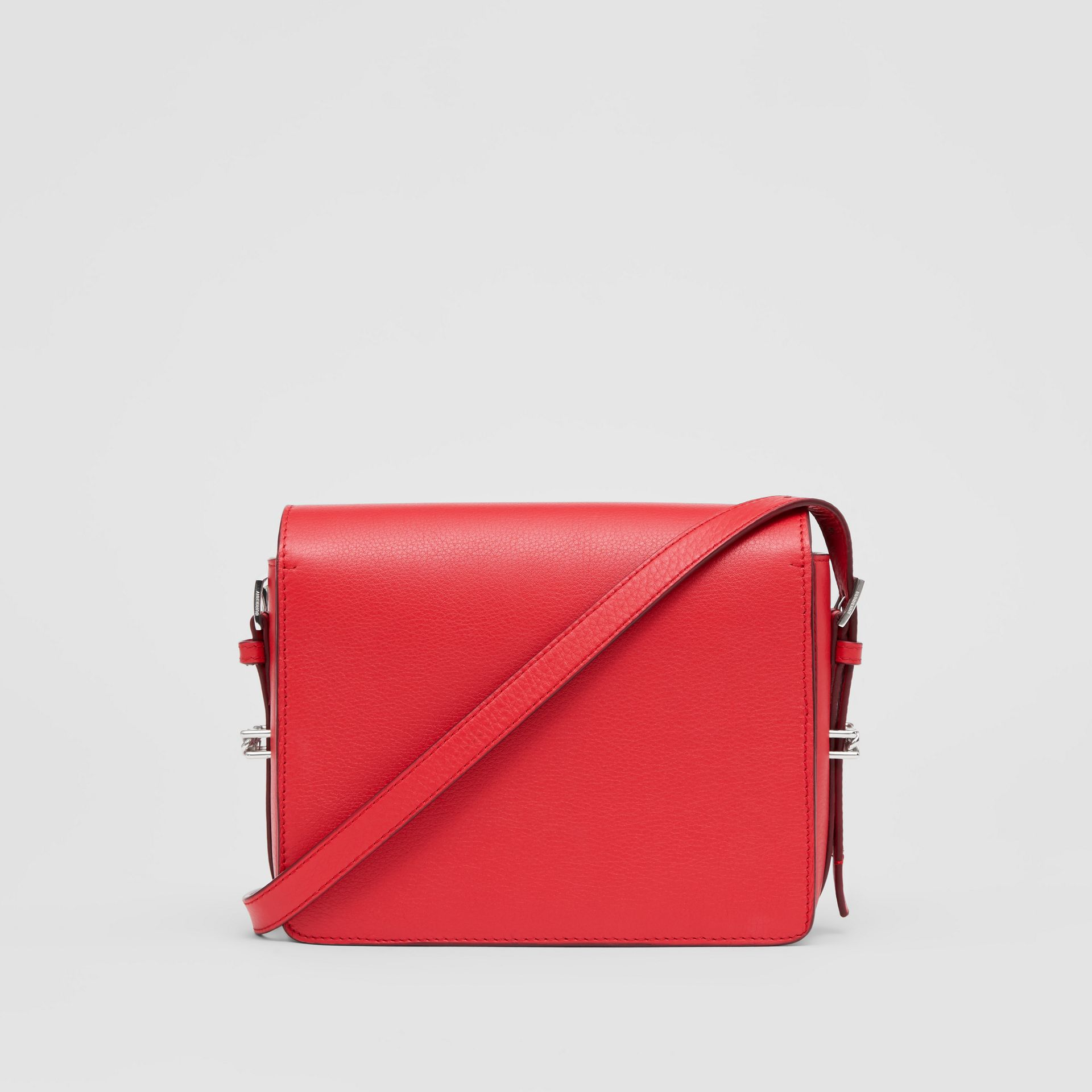 Small Leather Grace Bag in Bright Military Red - Women | Burberry - gallery image 7