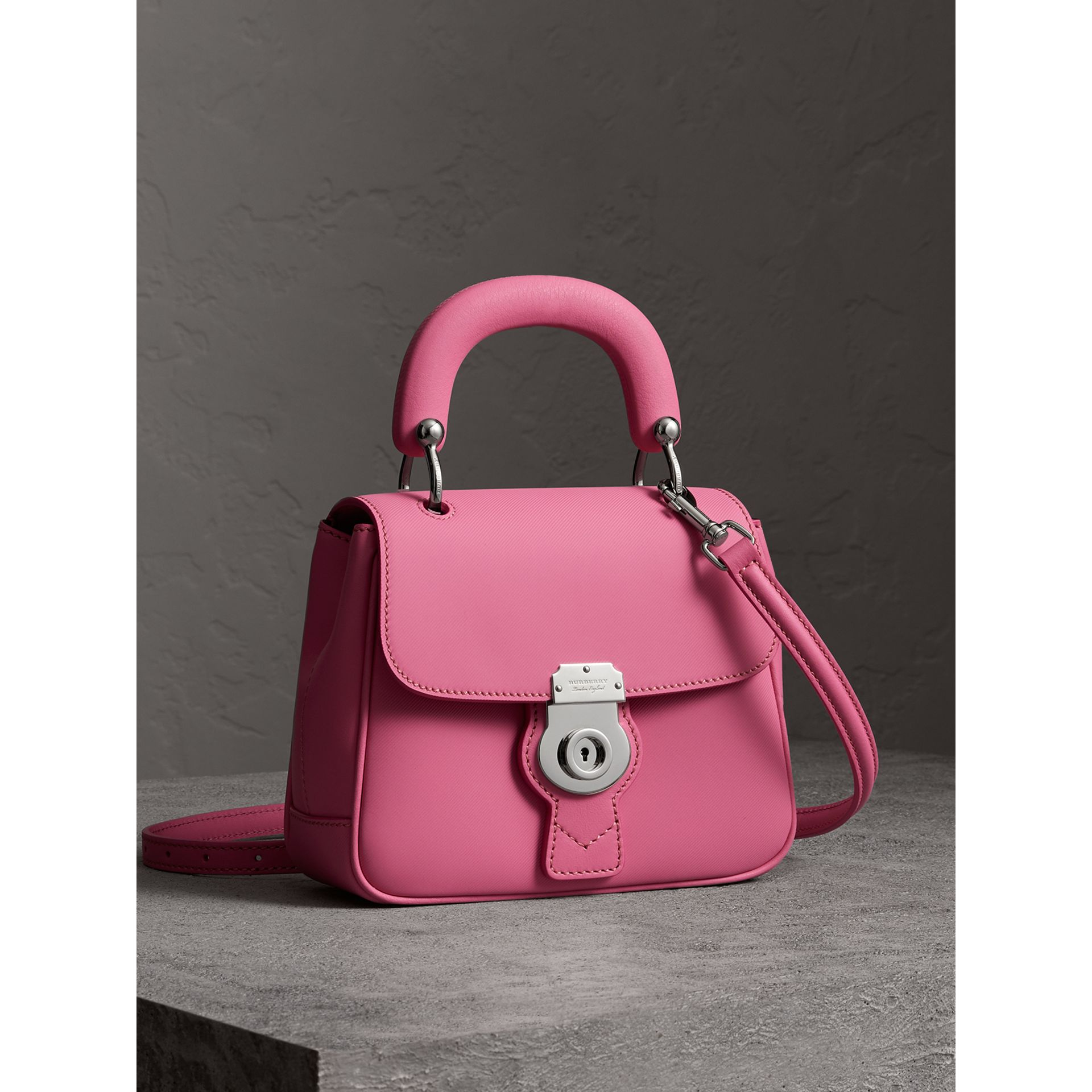The Small DK88 Top Handle Bag in Rose Pink - Women | Burberry Australia - gallery image 6