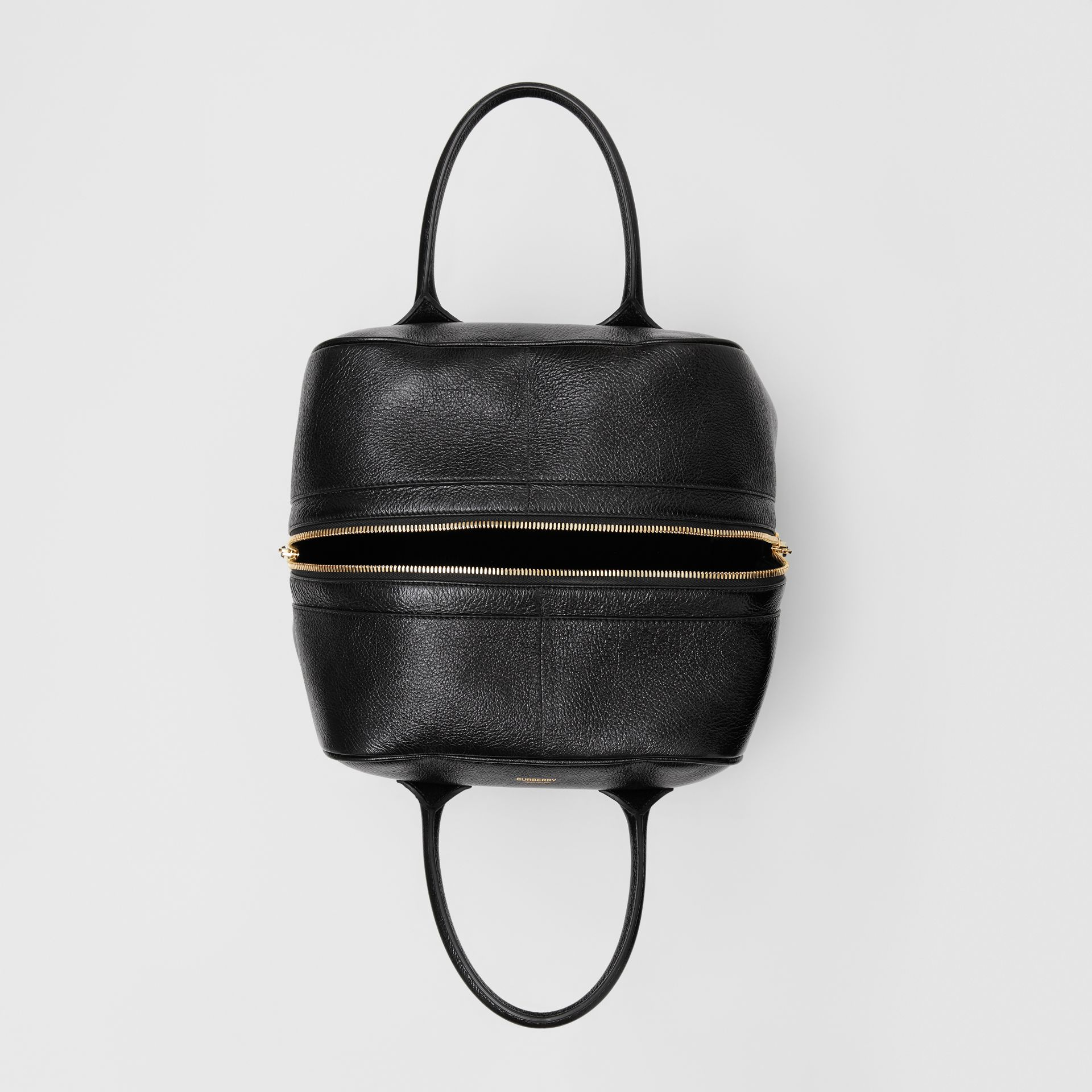 Medium Lambskin Cube Bag in Black - Women | Burberry Singapore - gallery image 4
