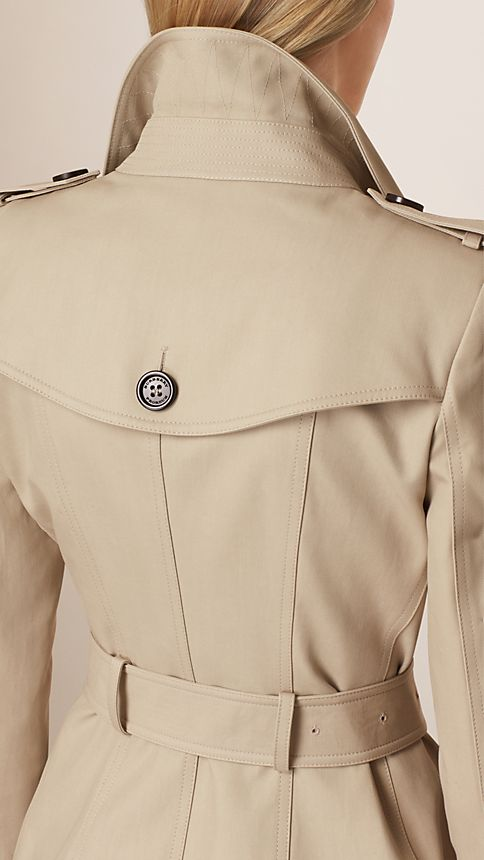 Trench Double Cotton Twill Trench Coat - Image 5
