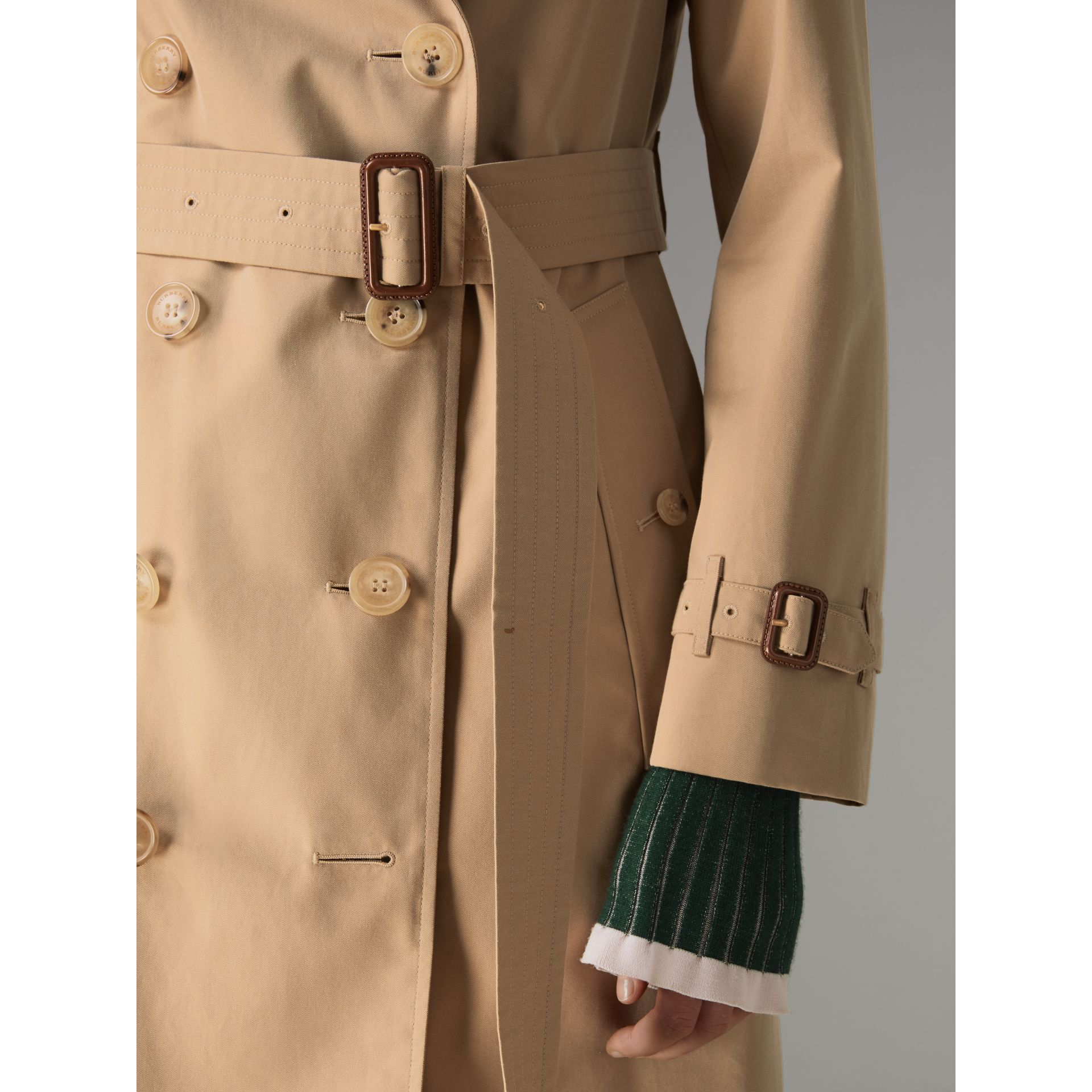 The Kensington – Trench Heritage (Miel) - Femme | Burberry - photo de la galerie 4