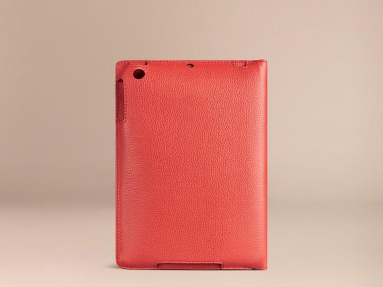 Orange red Grainy Leather iPad Mini Case Orange Red - cell image 1