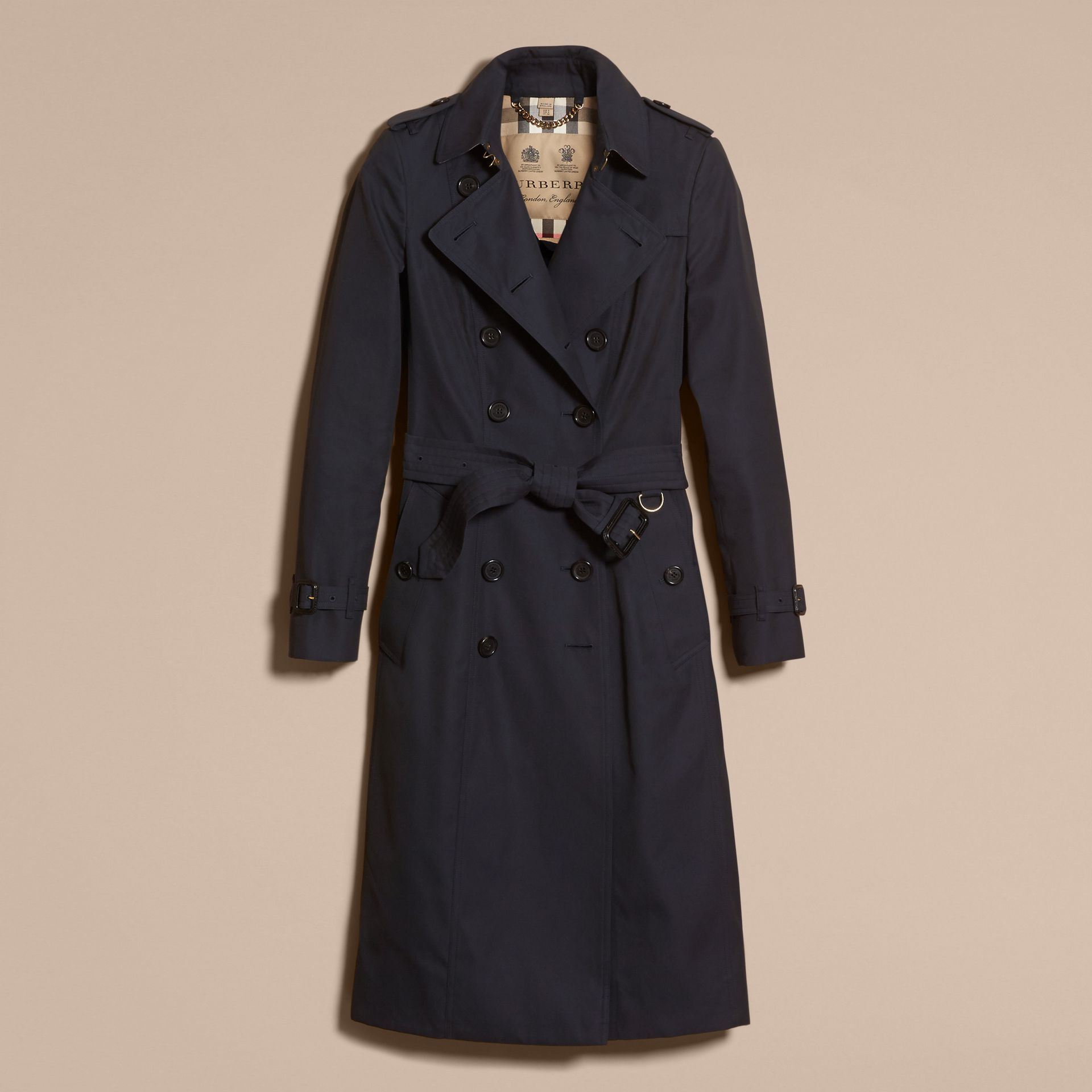 Marine Trench-coat Heritage extra-long The Chelsea Marine - photo de la galerie 4