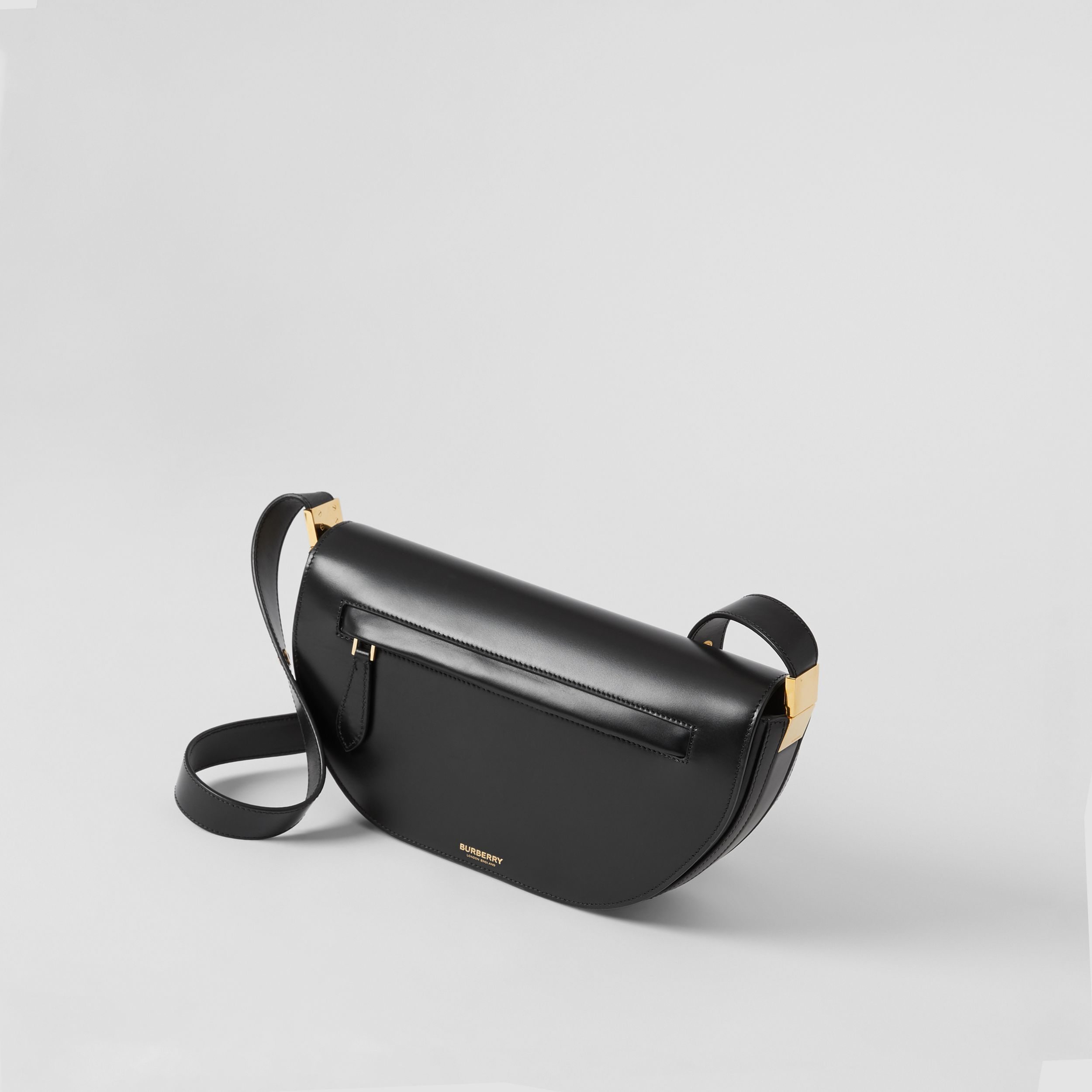 Small Leather Olympia Bag in Black - Women | Burberry - 4