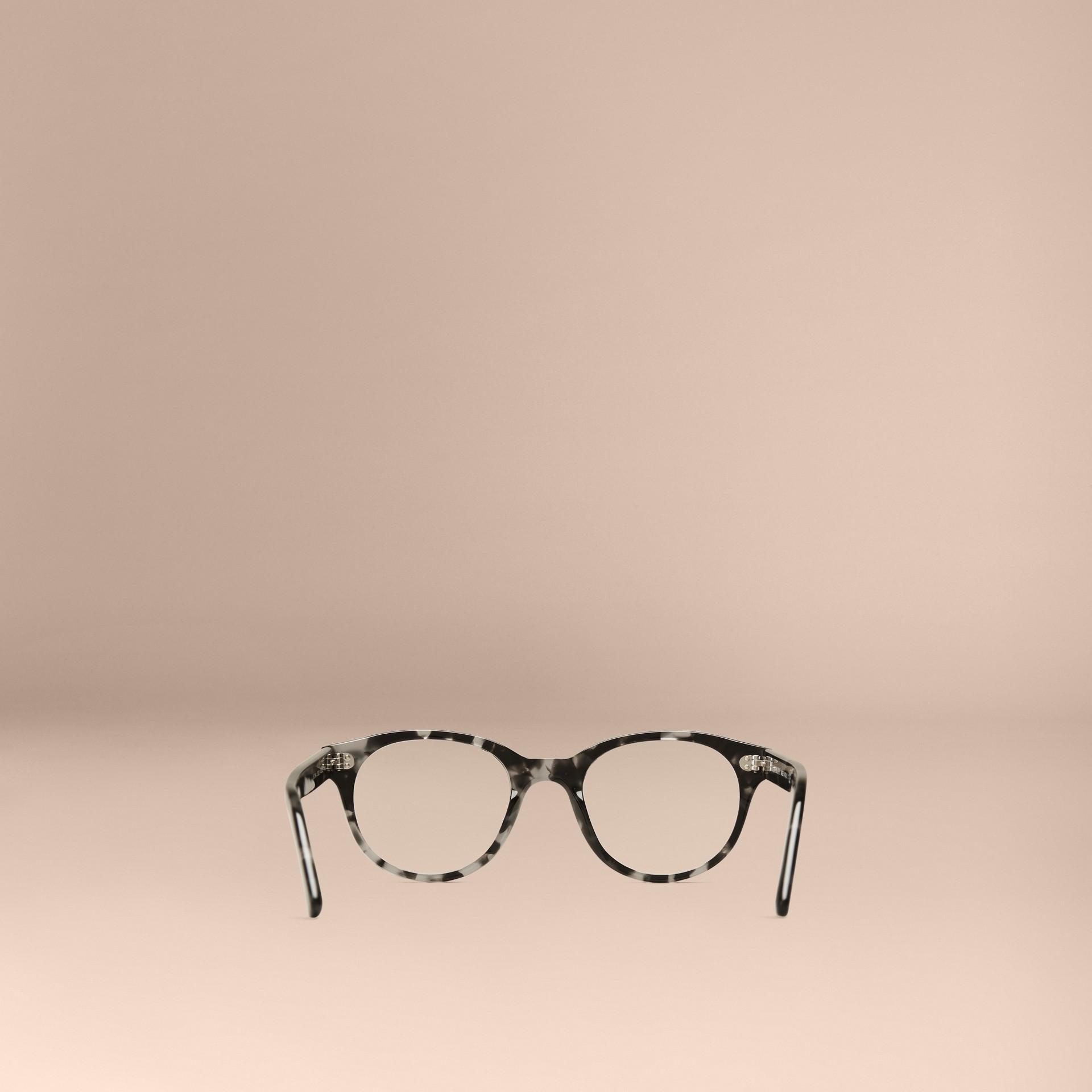 Gris Monture ronde pour lunettes de vue Gris - photo de la galerie 3