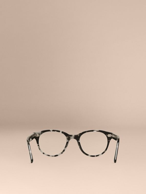 Gris Monture ronde pour lunettes de vue Gris - cell image 2