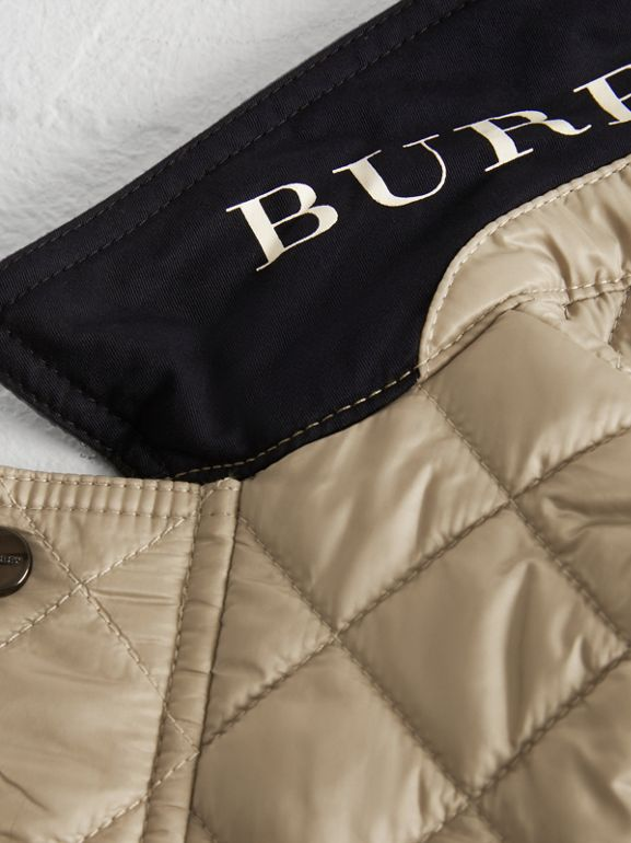 Lightweight Diamond Quilted Jacket in Mink - Children | Burberry Australia - cell image 1