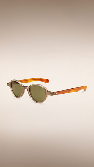 The Scholar Round Frame Sunglasses
