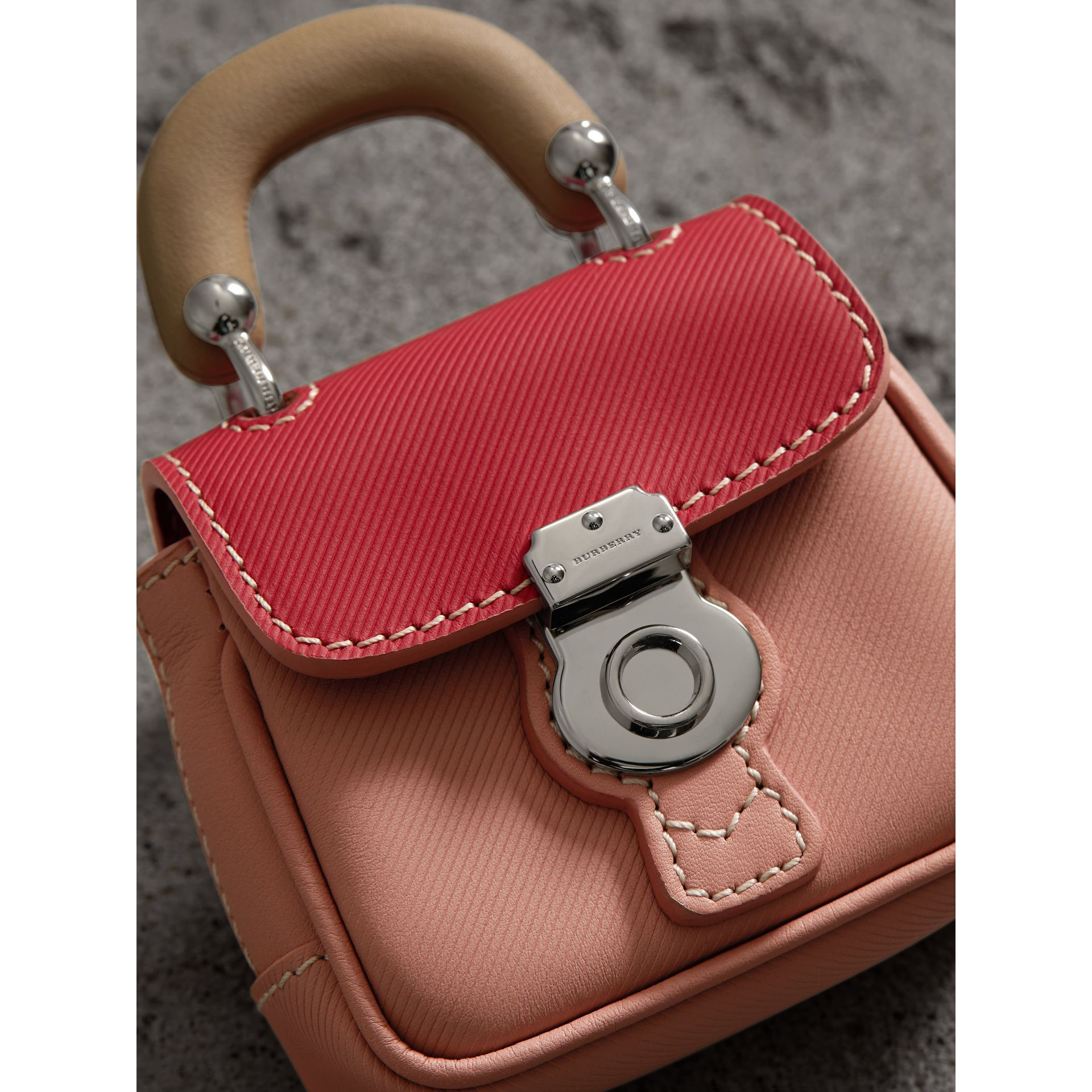 The DK88 Charm in Ash Rose/ Bright Russet | Burberry United Kingdom - gallery image 1