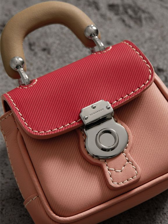 The DK88 Charm in Ash Rose/ Bright Russet | Burberry United Kingdom - cell image 1