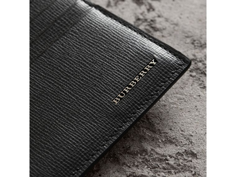 London Leather Card Case in Black | Burberry Singapore - cell image 1