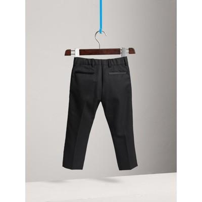 Burberry - Pantalon de smoking tailleur en laine - 4