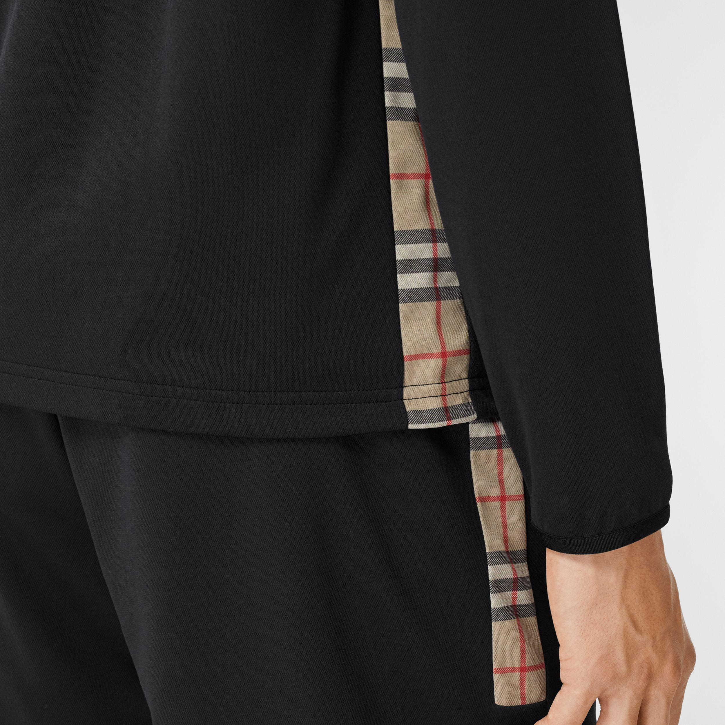 Vintage Check Trim Technical Track Top - Men | Burberry Australia - 2