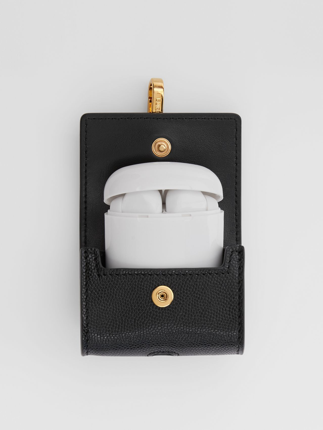 Grainy Leather AirPods Pro Case in Black