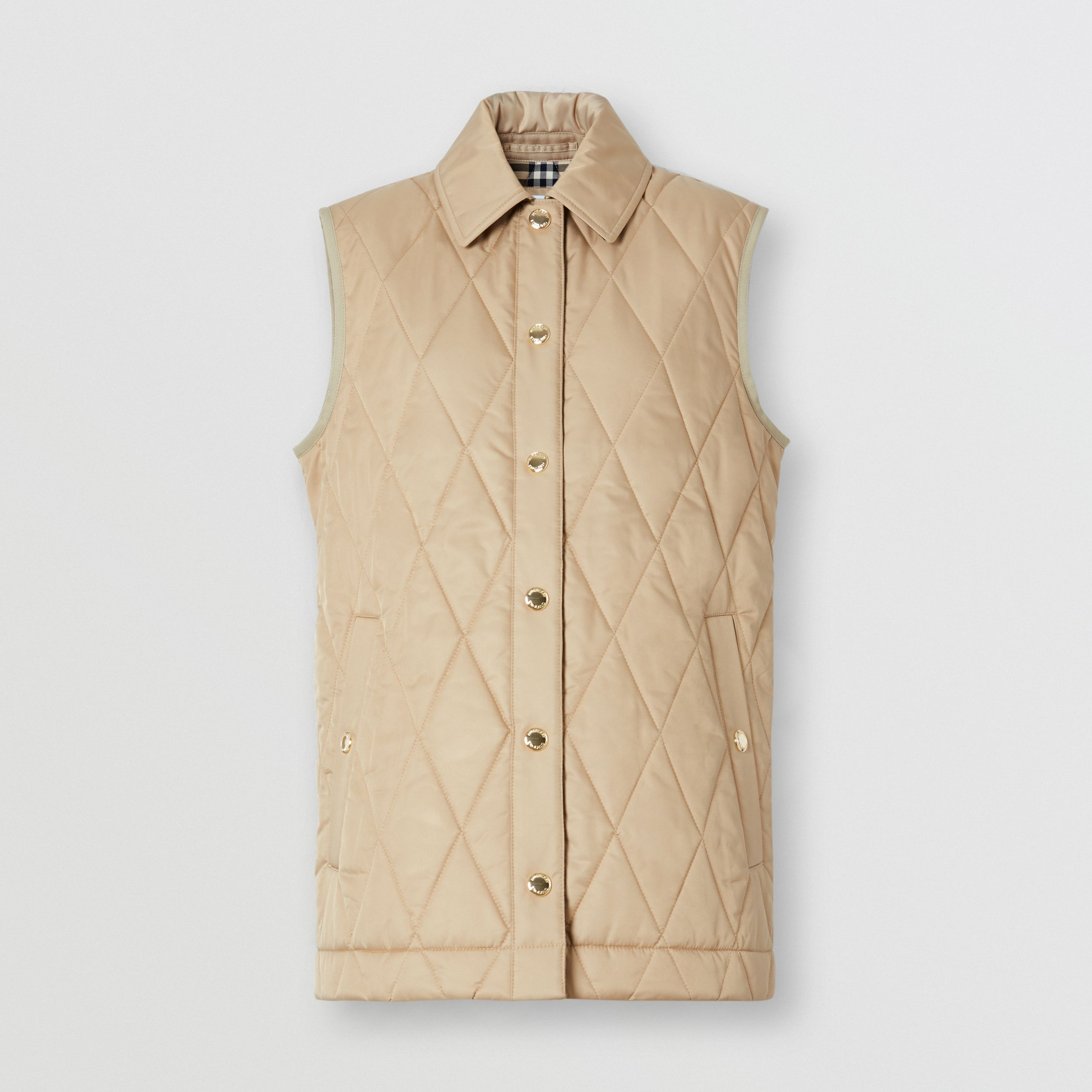 Diamond Quilted Thermoregulated Gilet - Women | Burberry Canada - 4