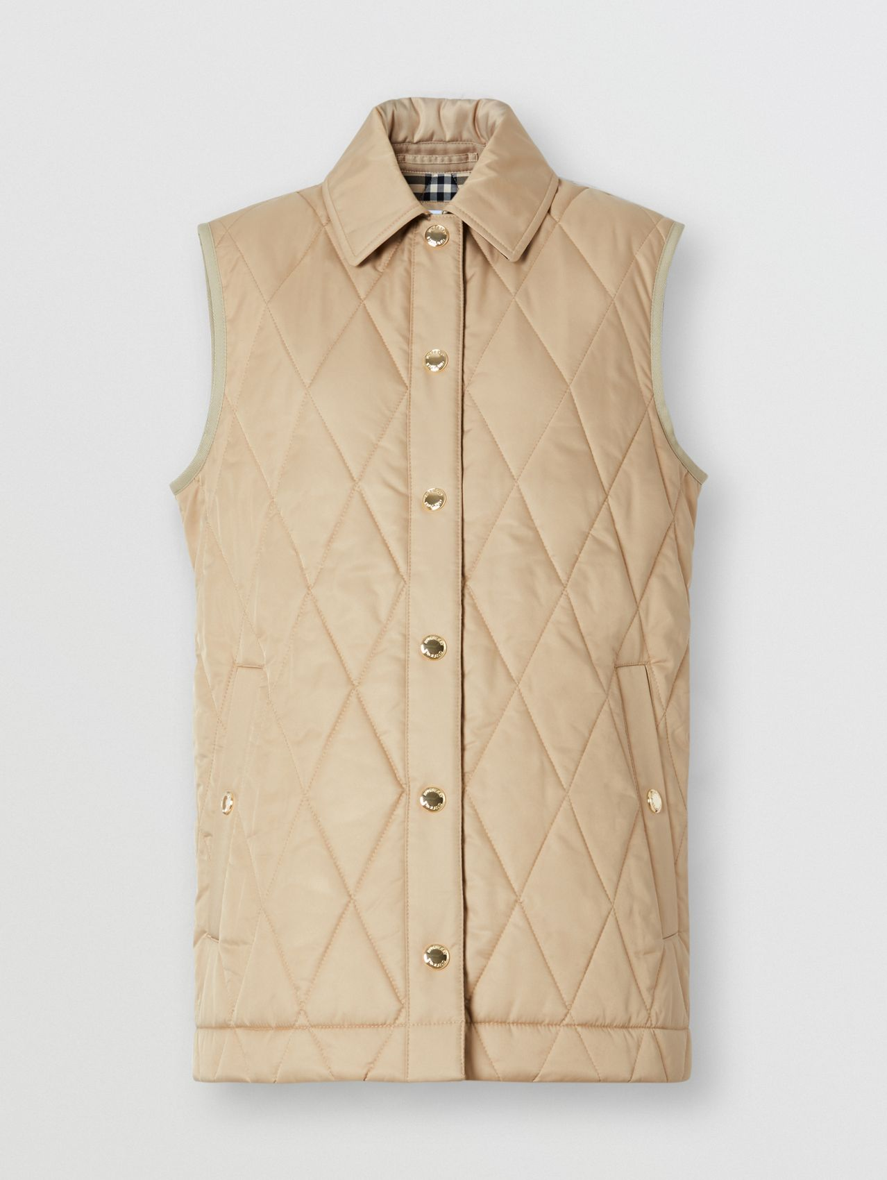 Diamond Quilted Thermoregulated Gilet
