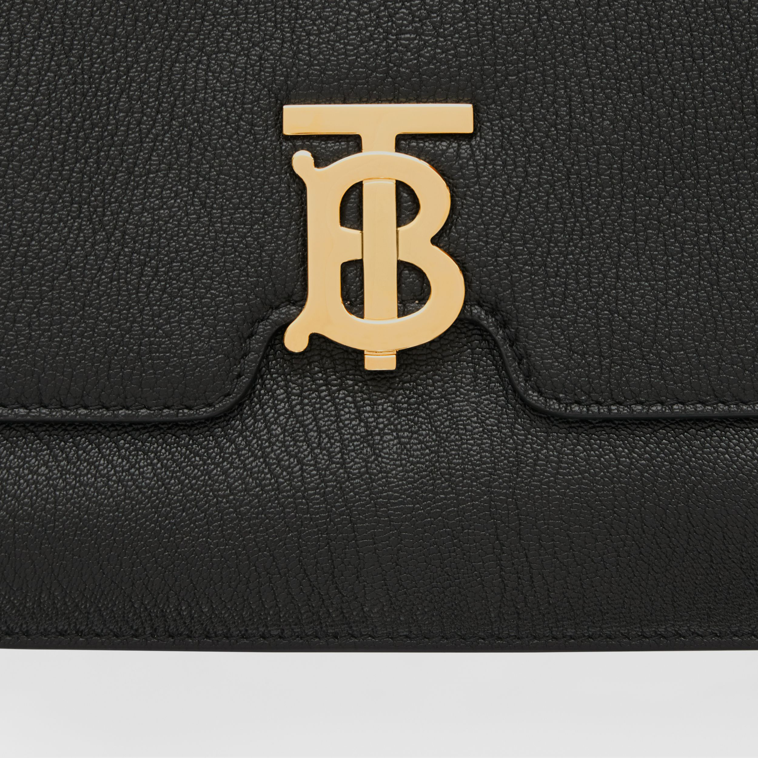 Medium Grainy Leather Alice Bag in Black - Women | Burberry Australia - 2