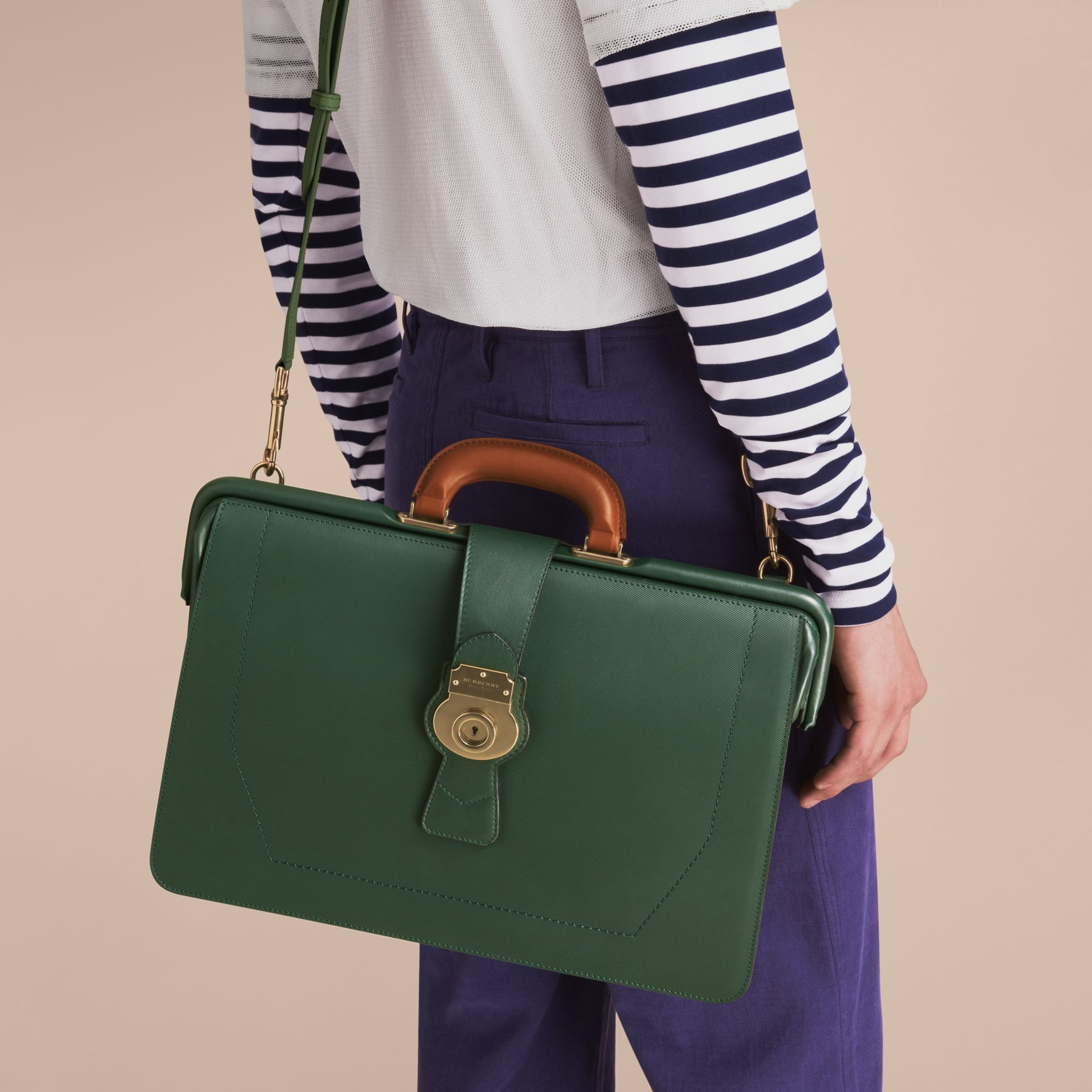 The DK88 Doctor's Bag in Dark Forest Green - Men | Burberry United States - gallery image 8