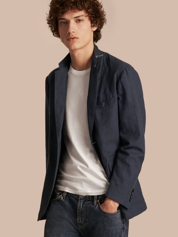 Slim Fit Cotton Jacket