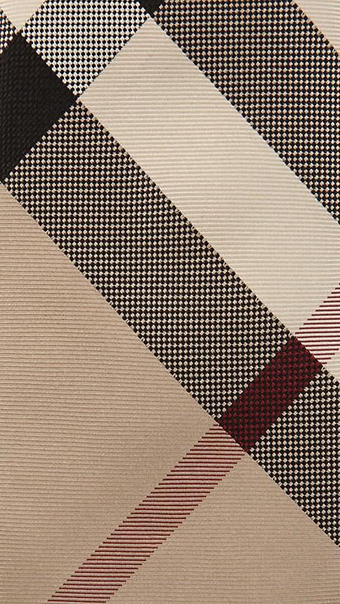 New classic check Check Silk Tie - Image 2