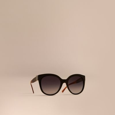 Buckle Detail Cat Eye Frame Sunglasses by Burberry